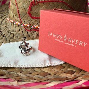 James Avery❣️Key to my heart ring❣️